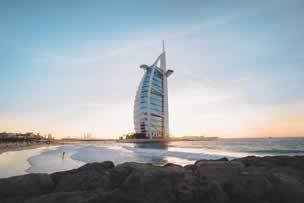 luxury hotels in Dubai (UAE)